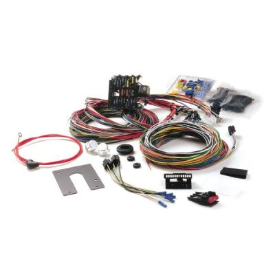 painless wiring harness kit for 1946 1974 jeep cj2a cj3a cj3b cj5 rh midwestjeepwillys com cj2a wiring harness routing
