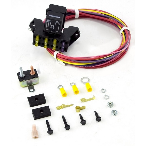 Marvelous Painless Wiring 3 Circuit Fuse Block Universal Jeep Applications Wiring Database Xlexigelartorg