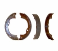 Parking Brake Shoe & Lining Set, fits 2007-13 Jeep Wrangler JK, Wrangler Unlimited JK & 2008-12 Jeep Liberty KK