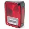 Passenger Side Rear Tail Light, 2007-12 Jeep Wrangler JK & Wrangler Unlimited JK
