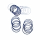 "Piston Ring Set, .030"" Over, V6 225 Engine, 1966-71 Jeep CJ5, CJ6 and Jeepster"