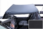 Pocket Brief, 97-06 Jeep Wrangler, Black Denim by Rugged Ridge