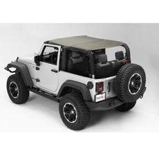 Pocket Island Topper, Khaki, 10-17 Jeep Wrangler Unlimited by Rugged Ridge