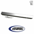 "Polished Stainless Steel 42"" Front Bumper w/o Holes fits 1976-1986 Jeep CJ Models by Kentrol"