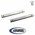 Polished Stainless Steel Entry Guard Set fits 1955-1983 Jeep CJ5 by Kentrol