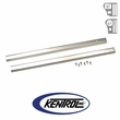 Polished Stainless Steel Entry Guard Set fits 1976-1995 Jeep CJ7 & YJ Wrangler by Kentrol