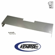 Polished Stainless Steel Frame Cover fits 1972-1986 Jeep CJ Models by Kentrol