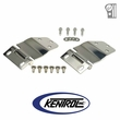 Polished Stainless Steel Liftgate Hinge Set fits 1977-1986 Jeep CJ7 by Kentrol