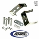 Polished Stainless Steel Rear Bumper Bracket Set fits 1945-1986 Jeep CJ Models by Kentrol