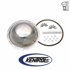 Polished Stainless Steel Rear Differential Cover fits 1976-1986 Jeep CJ Models by Kentrol