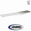 Polished Stainless Steel Rocker Guard Set fits 1976-1986 Jeep CJ7 by Kentrol
