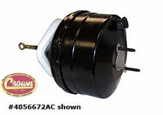 Power Brake Booster, 1984-94 Jeep Cherokee XJ without ABS