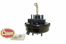 Power Brake Booster, 1991-94 Jeep Cherokee XJ without ABS