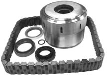 Progressive Coupling Seal and Chain Kit For 1999-2004 WJs w/ 247 transfer case