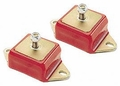 Prothane 6 Cylinder Engine Mount Set for Jeep 1972-86 CJ, RED