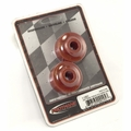 Prothane Transmission Torque Arm Bushings for Jeep 1973-96 CJ & YJ, Pair, RED