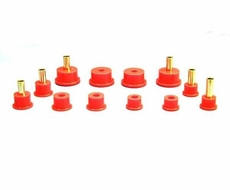 Prothane Rear Spring & Shackle Bushing Kit for Jeep  1984-99 XJ CHEROKEE, RED�