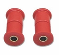 Prothane Shackle Bushing Kit for Jeep 1955-75 CJ, Front or Rear, RED