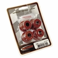 Prothane Shackle Bushing Kit for Jeep 1976-86 CJ Front, RED