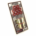 "Prothane Swaybar Bushing Kit for Jeep 1976-86 CJ With 15/16"" DIA BAR, RED"