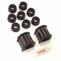 "Prothane Swaybar Bushing Kit for Jeep 1987-95 WRANGLER With 1 1/8"" DIA. BAR, BLACK"