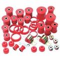 Prothane Total Suspension Kit for Jeep 1987-95 WRANGLER, RED