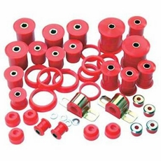 Prothane Total Suspension Kit for Jeep 1997-06 TJ WRANGLER, RED