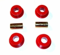 Prothane Track Arm Bushing Kit for Jeep 1993-98 ZJ GRAND CHEROKEE, Rear, BLACK