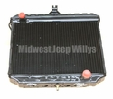 New Radiator Assembly for M151, M151A1 and M151A2, 10921887