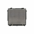 Radiator, Jeep Cherokee (1984-1986) w/ 4 & 6 cyl engine. (1987-1998) w/ 2.5L engine. Core Size: 16-3/4 x 20-1/4; 2 Rows