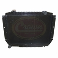 Radiator, 2 Core, 1981-1986 Jeep CJ w/ 4.2L engine