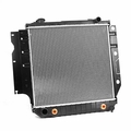Radiator, 1987-1991 Jeep Wrangler YJ, 2.5L, 4.0L engines