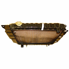 RADIATOR, WRANGLER, 1992-95� 4 OR 6 CYL, W/ OR W/O AIR, AUTO OR MANUAL, 2 CORE