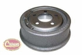 "Rear Brake Drum, 1990-06 Jeep Wrangler YJ, TJ and Cherokee XJ with 9"" x 2-1/2"" Drums"