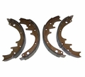 "Rear Brake Shoe Set, 1978-86 Jeep CJ, 1987-89 Wrangler YJ, 1984-89 Cherokee XJ with 10"" X 1-3/4"" Drum Brakes"