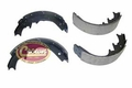 "Rear Brake Shoe Set, 1987-95 Jeep Wrangler YJ, 1986-90 Cherokee XJ with Dana 44 Rear Axle & 10"" X 2.5"" Drums"
