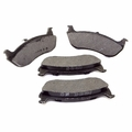 Rear Disc Brake Pad Set Jeep Wrangler (2003-2006); Semi-Metallic.