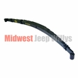 Rear Leaf Spring Assembly, 9 Leafs, Fits 1952-1975 Willys Jeep CJ5, CJ6, M38A1