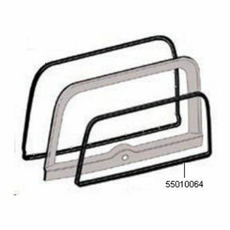 Rear Lift Gate Glass Weatherstrip, 1987-1995 Wrangler