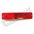 Rear Side Marker Lens in Red for 1967-1986 C101, C104 Commando, Jeep CJ Models