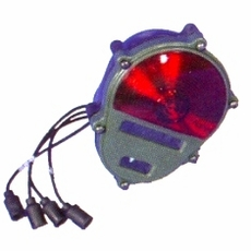 Composite Rear Stop Lamp, Tail Lamp, Turn Signal Lamp with Blackout Function, 24 Volt, 11614157