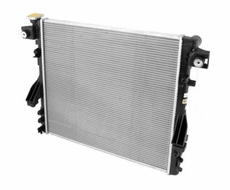 Replacement Radiator, fits 2007-11 Jeep Wrangler JK & Wrangler Unlimited JK with 3.8L 6 Cylinder Engine