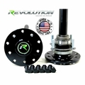 Revolution Gear & Axle Jeep Dana 44 US Made Rear Axle Kit, 97-06 Jeep TJ & LJ W/Drum Brakes, 30 Spline
