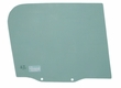 Right Side Door Glass, Jeep CJ7, CJ8, Wrangler YJ, 1976-95, Passenger Side