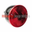 Right Side Rear Tail Light, fits 1945-1975 Jeep CJ2A, CJ3A, CJ5, CJ6, Plastic Housing