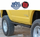 Rock Hard 4x4 1984-2001 Jeep Cherokee XJ Rocker Guards