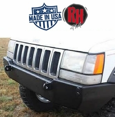 Rock Hard 4x4 Patriot Series Front Bumper for 1993-1998 Jeep Grand Cherokee ZJ