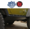 "Rock Hard 4x4 2007-2017 Jeep JK Wrangler Patriot Series ""Boat Side"" Rock Sliders w/ Tread Plate 2-Door"