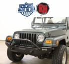 ( RH4010 ) Rock Hard 4x4 Patriot Series Full Width Front Bumper for 1976-2006 Jeep CJ5, CJ7, CJ8, YJ, TJ, and LJ