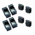 Rocker Switch Housing Kit by Rugged Ridge